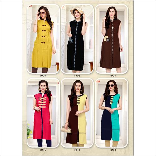 Ladies Designer Kurtis Set