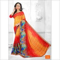 Ladies Causal Printed Sarees