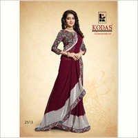 Ladies Fancy Printed Sarees