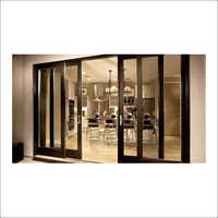 UPVC 4 Panel Designer Sliding Door