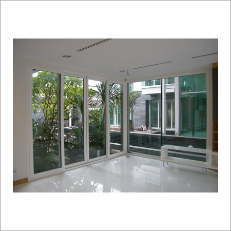 UPVC 3 Panel Sliding Door
