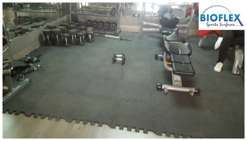 Rubber Gym Flooring