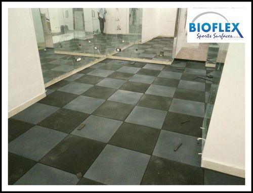 Recycled Rubber flooring