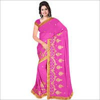 Ladies Sathgram Georgette Saree