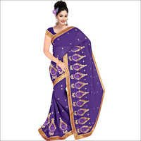 Ladies Georgette Fancy Saree