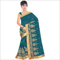 Ladies Georgette Designer Saree