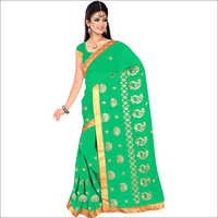 Ladies Traditional Georgette Saree