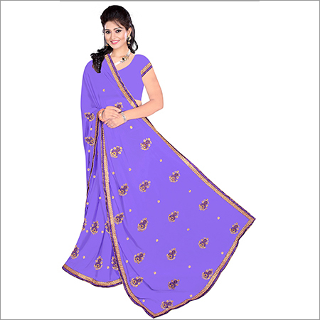 Ladies Bollywood Georgette Saree