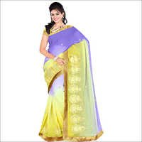 Ladies Designer Georgette  Pedding Saree