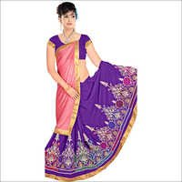 Ladies Georgette Lycra Saree