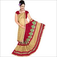 Ladies Designer Georgette Lycra Saree