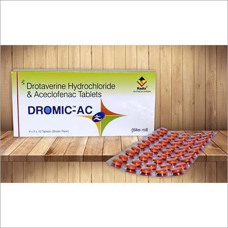 Drotaverine Hydrochloride Aceclofenac Tablets