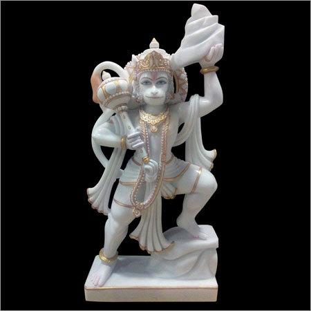 Marble Lord Hanuman Murti