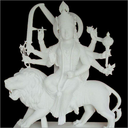 Marble Goddess Durga Statues