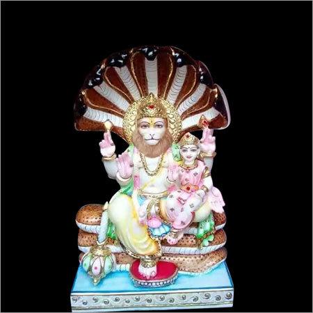 Lord Narshima Marble Statue