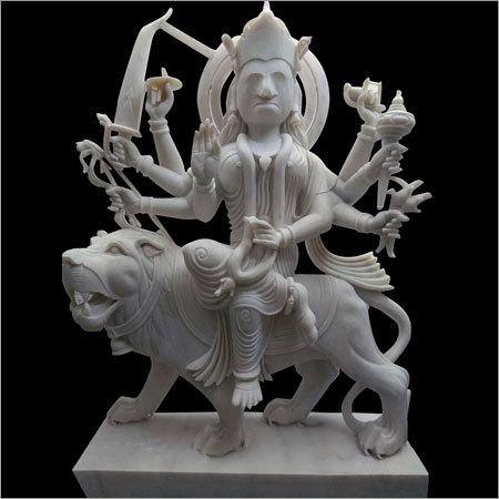Mata White Marble Statue