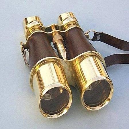 Brass Binoculars