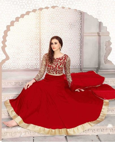 Heavy Designer Semi-Stitched Salwar Suit
