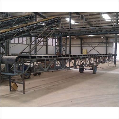 Belt Conveyors For Sugar Bags In Godowns