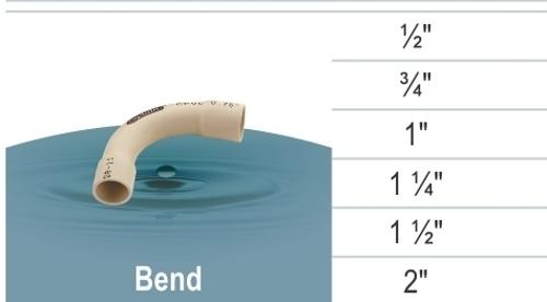 cPVC Bend