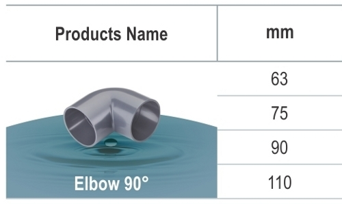 uPVC Pressure Elbow