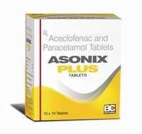 Aceclofenac 100 mg. + Paracetamol 325mg.