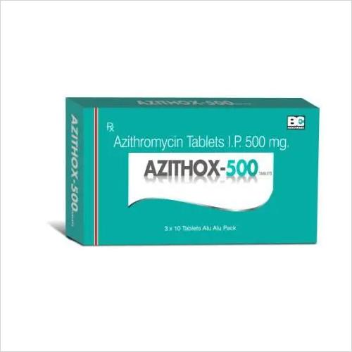 Azithox 500 Tablet