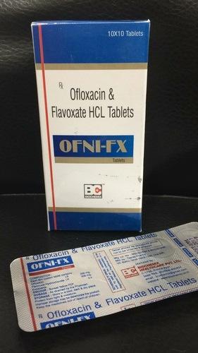 OFLOXACIN 200MG+FLAVOXATE 200MG
