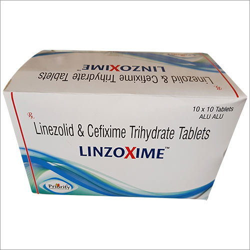 Linezolid & Cefixime Trihydrate Tablets