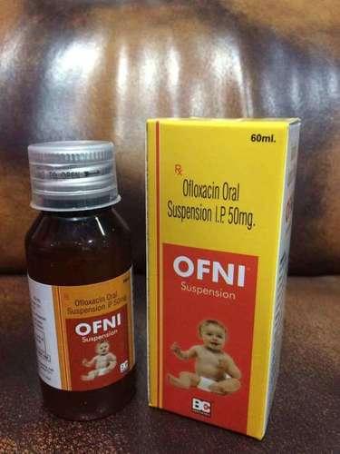 Ofloxacin 50 mg. Suspension