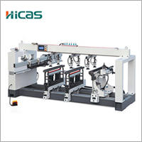 Multi spindle wood drilling machine