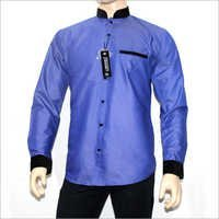 Chinese Collar Mens Shirt