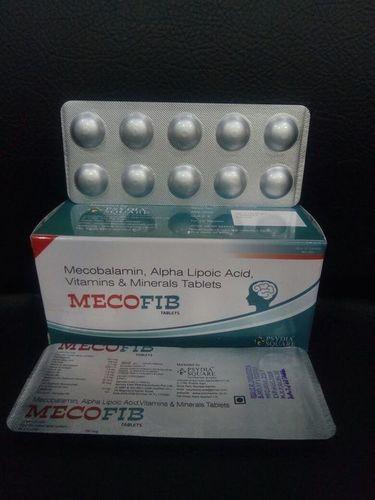 Mecobalamin 750mcg+Alpha Lipoic Acid+Vit A, E, B1, B2, B6, Selenium & Zinc Tab