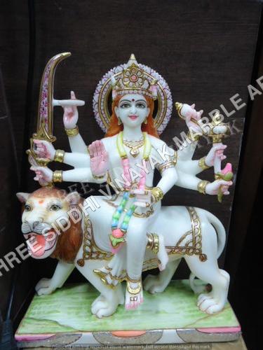 Marble Durga Maa Idol