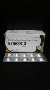 Betahistine Dihydrochloride 8 mg. Tablets