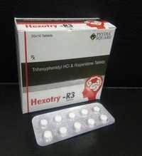Trihexyphenidyl 2 mg+Risperidone 3 mg Tablets