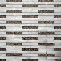 Aluminium Mosaics Designer Wall Tiles