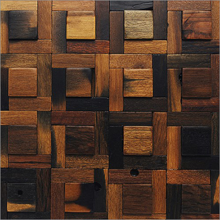 Ancient Wood Mosaics Tiles