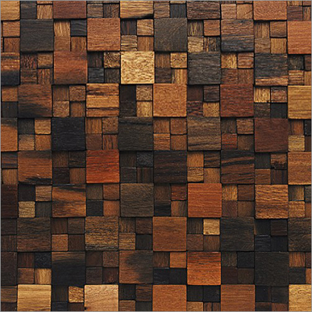 Designer Ancient Wood Mosaics Tiles