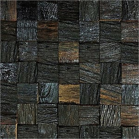 Decorative Ancient Wood Mosaics Tiles