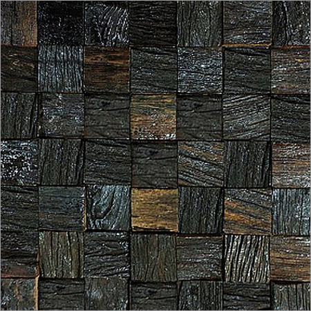 Decorative Ancient Wood Mosaics Tiles