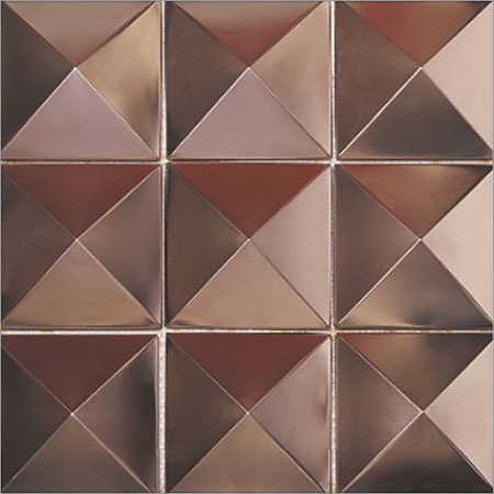 Metal Mosaics Wall Tiles