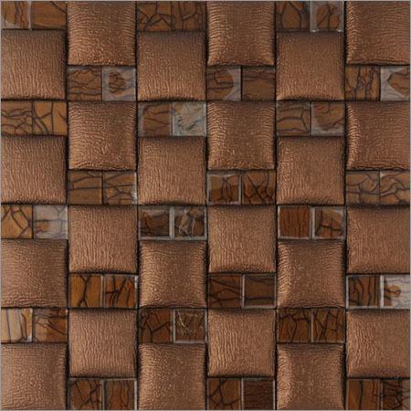 Fancy Leather & Glass Wall Panels