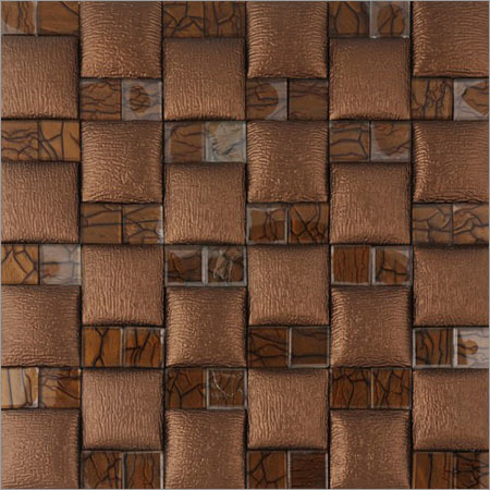Fancy Leather & Glass Wall Panels