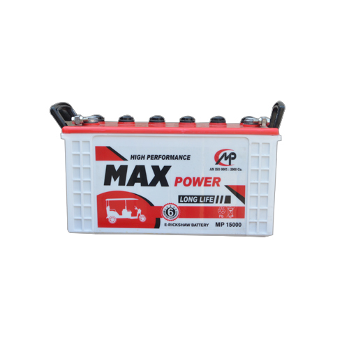 MAX Power E-Rickshaw Battery