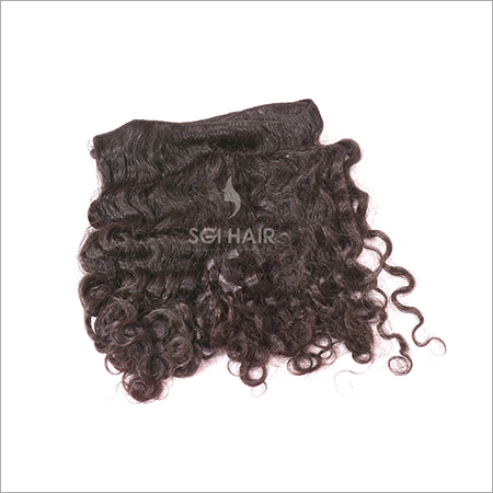 Natural Curly Machine Weft