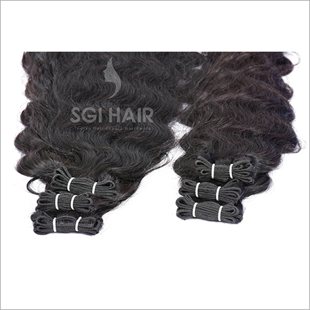 Indian Temple Hair Deep Wavy Machine Weft