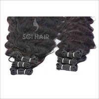 Indian Temple Hair Deep Wavy Machine Weft