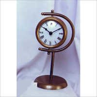 Antique Table Clock With Stand