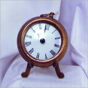 Antique Table Clock With Leg